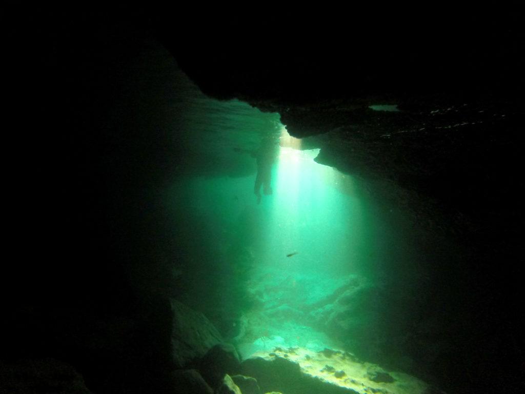 Coasteering Wasserloch Cornwall